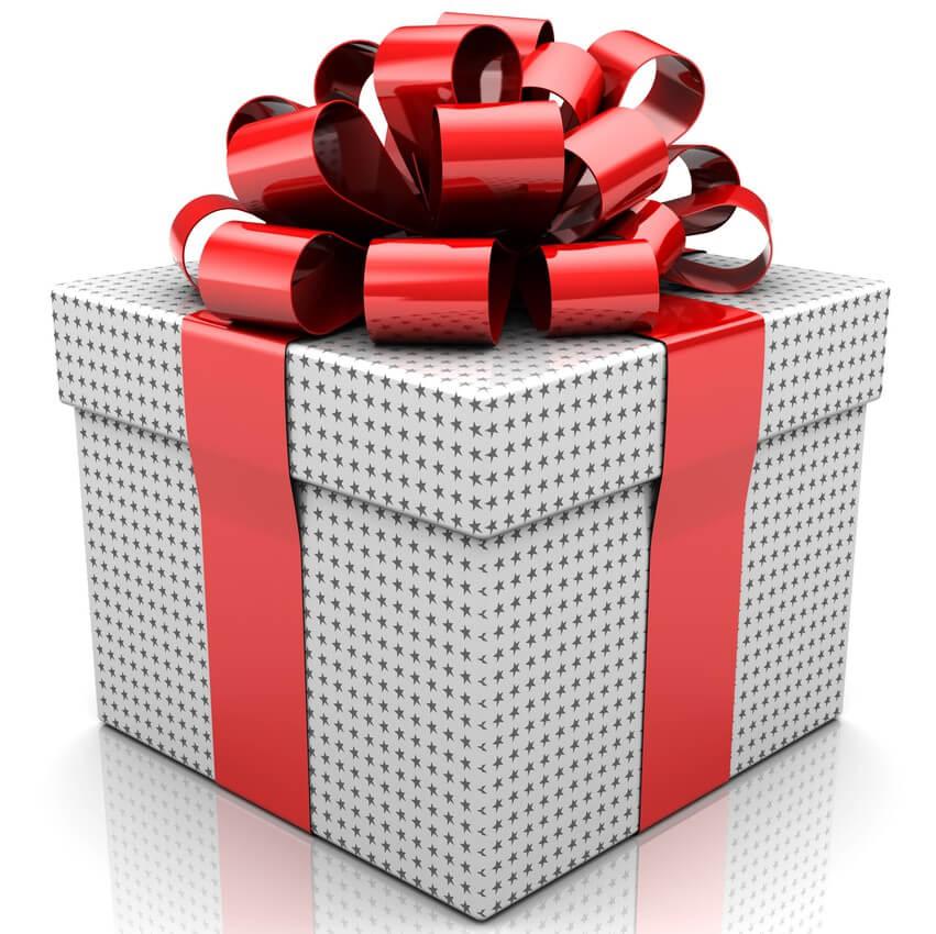 Подарок за регистрацию